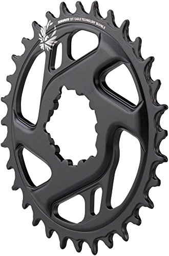 SRAM X-Sync 2 Eagle Cold Forged Direct Mount Chainring Black, 32T/3mm Offset