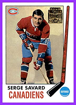 2001-02 Topps Archives #53 Serge Savard MONTREAL CANADIENS