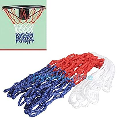 Buy AST Works Basketball Net Red White Blue All Weather Hoop Goal Rim  Indoor Outdoor 5mm Nylon Online at Low Prices in India - Amazon.in f188f35003671