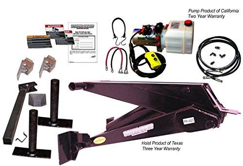 11 Ton (22,000 lb) Dump Trailer Hydraulic Scissor Hoist Kit – PH620 by Premium Supply