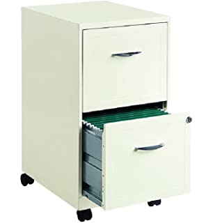 Charmant Hirsh Industries 2 Drawer Steel File Cabinet In White