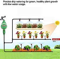 Riego Jardin Kit de Riego por Goteo Automático DIY Ahorra de mano de obra y Agua para Irrigación los Cama de Flores Jardín Paisajes Patio Plantas: Amazon.es: Hogar