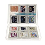 Insten 28-in-1 Game Card Case Compatible With Nintendo NEW 3DS / 3DS / DSi / DSi XL / DSi LL / DS / DS Lite, White