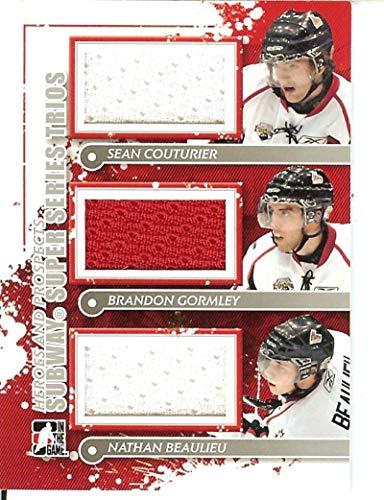 2013-14 SP Game Used Team Canada Fabrics #TC-NB Nathan Beaulieu MEM from SP