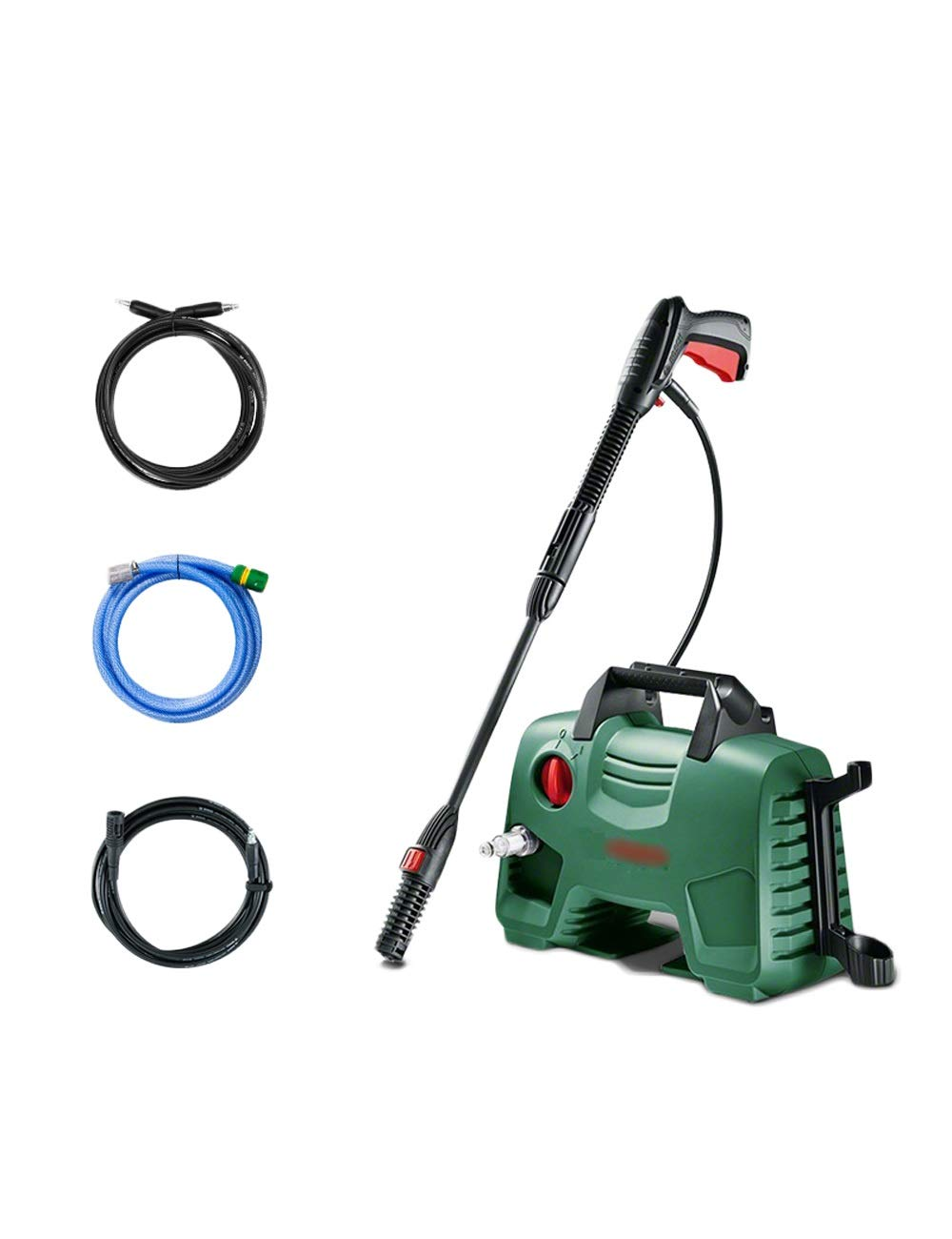 High Pressure Water Gun, Household Portable Power Water Gun, High Pressure Cleaner Power Tool 3 Kinds of Nozzles Compact (Color : B) by Wp-dq