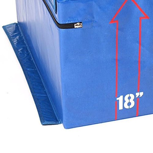 Gronk Fitness Soft Plyo Box Set. 6'' 12'' & 18'' - Commercial Grade by Gronk Fitness Products (Image #1)