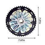 Mountain-Bike-Cassetta-A-12-Velocita-9-50T-Ruota-Libera-Ultraleggera-Per-Bicicletta-Colorata-In-Acciaio-Resistente-Per-S-R-A-M-S-H-I-M-A-N-O-Trasmissione-Volano-Per-Bicicletta-Accessori-Di-Ricambio