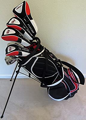"NEW Mens Complete Golf Set Custom Made Clubs for Tall Men 6'0""- 6'6"" Tall Right Handed Driver, Fairway Wood, Hybrid, Irons, Putter"