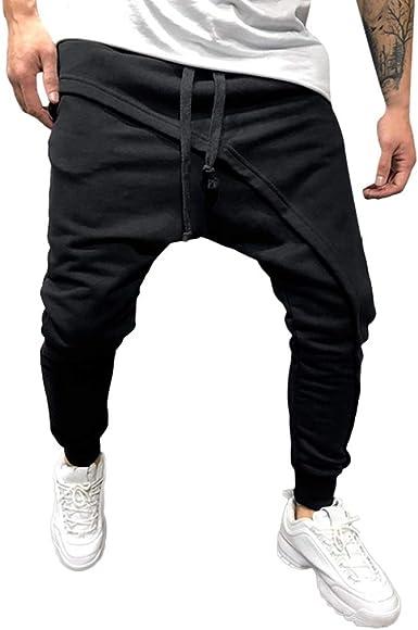 Pantalones Largo Hombre Chandal, Gusspower Moda pantalón Deportivo ...