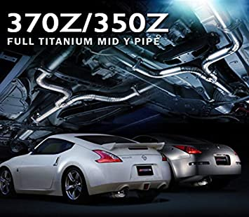 Amazon com: Tomei Ti Titanium Mid Y Pipe for Nissan 370Z