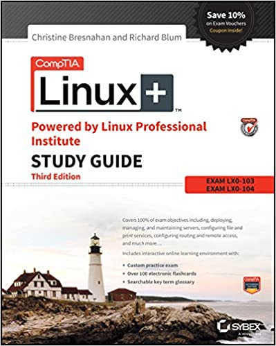 Amazon comptia linux powered by linux professional institute comptia linux powered by linux professional institute study guide exam lx0 103 and exam lx0 104 comptia linux study guide 3rd edition kindle edition fandeluxe Choice Image