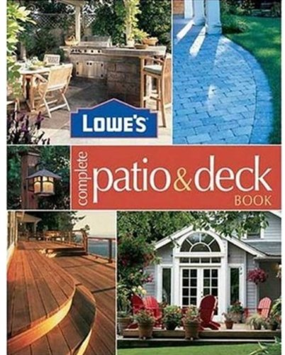 Lowes Complete Patio   Deck Book  Lowes Home Improvement