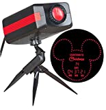 Disney Countdown To Christmas Red LED Outdoor Stake Light Projector