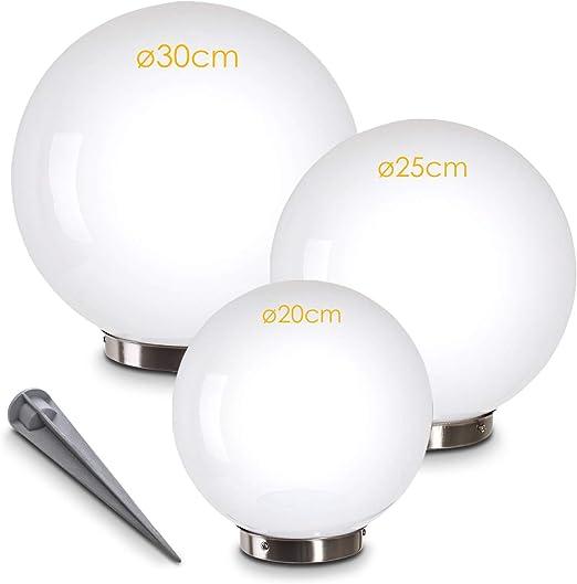 Illuminazione da Esterno Sfere Luminose Luci Solare da Giardino LED Bianco Nuovo