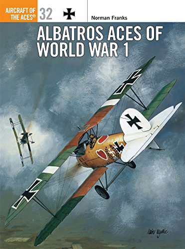 Albatros Aces of World War I (Osprey Aircraft of the Aces No 32) (Osprey Civil Aircraft)