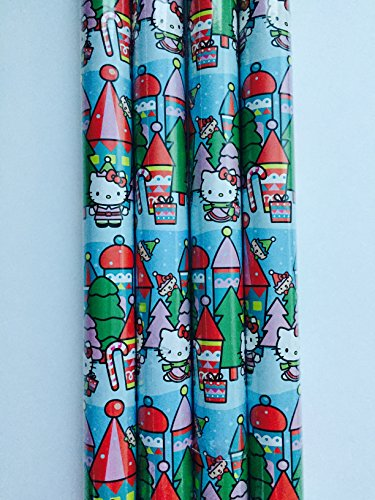 Gift Wrap - Hello Kitty Holiday - Wrapping Paper - 1 Roll - 20 sq feet