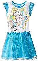 Disney Girls' Frozen Flutter Sleeve Dres...