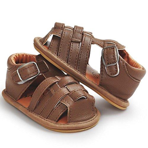 Tefamore Zapatos Sandalias para Bebés Primeros caminantes Niños Niño Niño Marrón