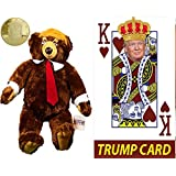 Trumpy Bear with Challenge Coin