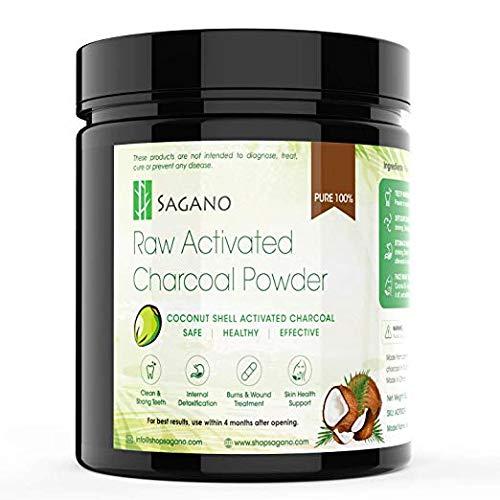 3. Sagano Raw Activated Charcoal Powder