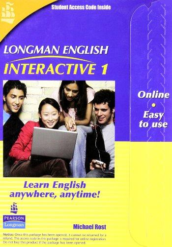 Longman English Interactive 1, Online Version, American English (Access Code Card)