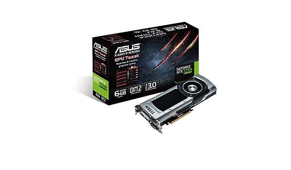 ASUS 90YV05W0-U0NA00 - Tarjeta gráfica (GeForce GTX TITAN, 6 ...
