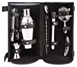 Barmaster's Pro Bar Travel Set - 8 Piece Set