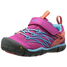 KEEN Chandler CNX Shoe (Little Kid/Big Kid), Very Berry/Capri, 5 M US Big Kid