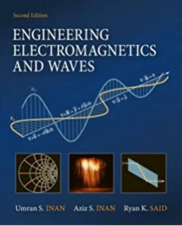 Electromagnetic waves umran s inan aziz inan 9780201361797 engineering electromagnetics and waves 2nd edition fandeluxe Choice Image