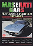 Maserati Cars Performance Portfolio 1971-1982 (Brooklands Books Road Test Series)