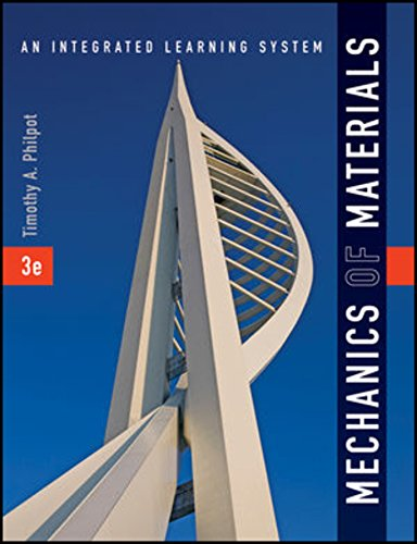 Mechanics of Materials: An Integrated Learning System, 3e WileyPLUS Blackboard Student Package