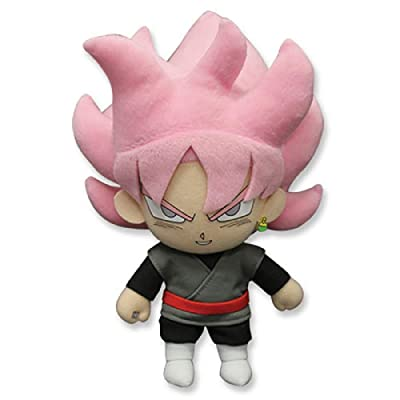 "Great Eastern Entertainment Dragon Ball Super-Goku Black Rose Plush 8"": Toys & Games"
