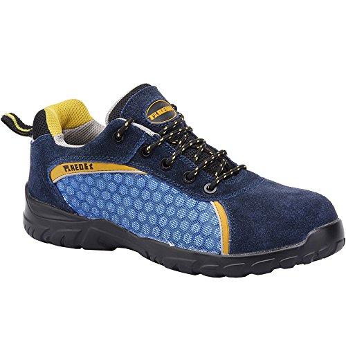Paredes SP5013 AZ41 Rubidio Chaussures de sécurité S1P Taille 41 Bleu