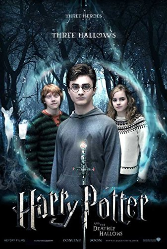 Click for larger image of 11 x 17 Harry Potter and the Deathly Hallows: Part I Movie Poster