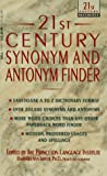 21st Century Synonym and Antonym Finder, Barbara Ann Kipfer, 0440213231