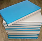 Set of 10 Toddlers / Childrens Triple Folding Wipe Clean Sleep Mats / nap mats / snooze mats. Ideal for Childminders & Nurseries