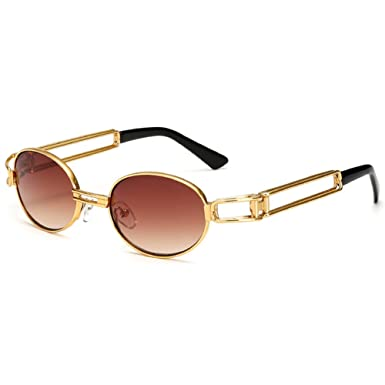 Highdas Steampunk Sunglasses Clear Lens Glasses Frame Gothic Flat ...