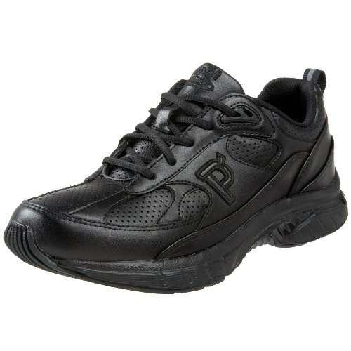 Propet Womens Quick Walker Fashion Sneaker Nero
