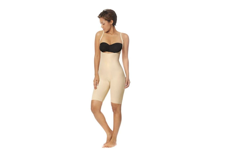 Marena Recovery SFBHS2 Knee-Length Girdle w/High-Back-Step 2-2XL-BGE