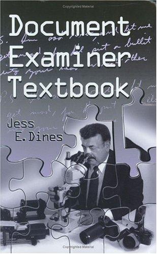 Document Examiner Textbook