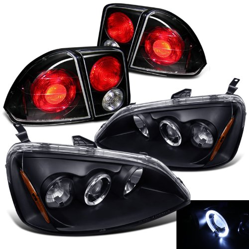 Civic 4d Projector Headlights - 6