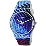 Swatch Men's SUOK113 Analog Display Quartz Multi-Color Watch