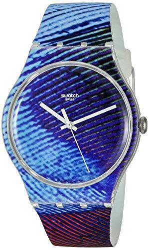 Swatch Men's SUOK113 Analog Display Quartz Multi-Color Watch