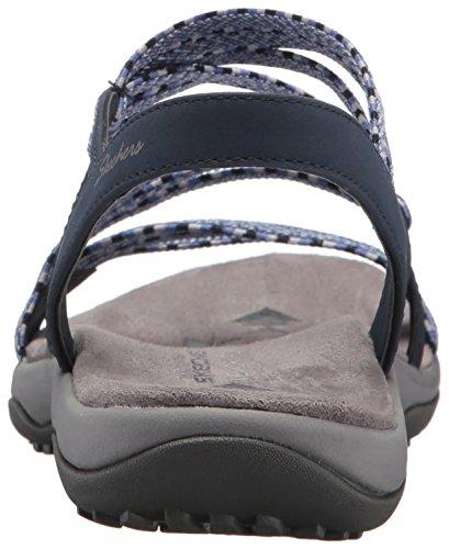 Sandal Slingback Stretch Women's Skechers Navy gore Z Appeal Reggae Slim ZR88Fq