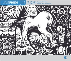 Live Phish Vol. 19: 7/12/91, Colonial Theatre, Keene, New Hampshire by Elektra / Wea