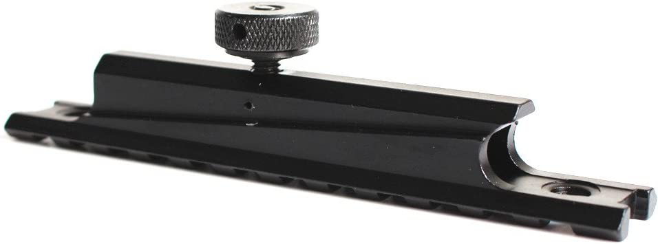 Noga Accessoires de Pistolet de Chasse Picatinny Rail Optics Scope Mount 12 Slots sadapte /à Airsoft AR-15 M4 Carry Handle