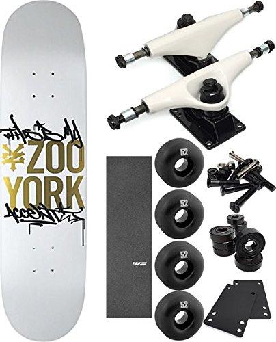100%本物 Zoo York B06XKP5JK1 Complete Skateboardsアクセントスケートボード8 Skateboard