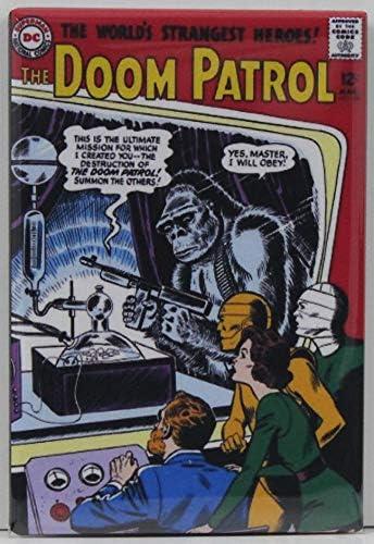 Amazon Com The Doom Patrol 86 Comic Book Cover Refrigerator