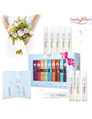 9 Pcs Mini Perfume Gift Set for Women, LuckyFine 9 Scent City Fragrances Kit Spray Perfume Gift for Girls