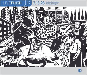Live Phish Vol. 17: 7/15/98, Portland Meadows, Portland, Oregon by Elektra / Wea